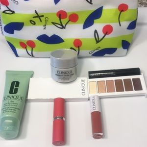 Brand New Clinique Makeup, Cream, Scrub w Bag